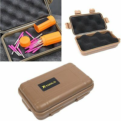 Hot Outdoor Plastic Waterproof Shockproof Storage Survival Container Case Box E