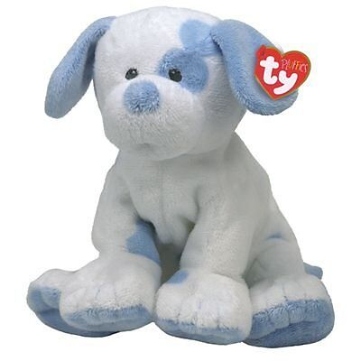 TY BABY PUPS  blue dog