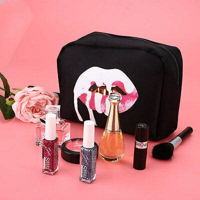 Portable Kylie Kollection Birthday Cosmetic Bag Storage Makeup Case Pouch Set