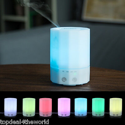 200ml Essential Oil Aroma Diffuser Ultrasonic Humidifier Air Mist Purifier UK