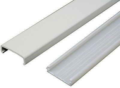 Legrand Wiremold 5 ft. Non Metallic Raceway Wire Channel White Electrical Cable
