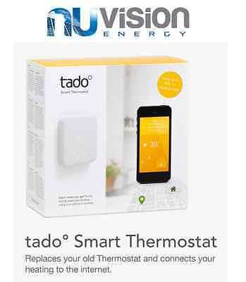 Tado° Smart Thermostat with Smartphone Control SAVE UP TO 31% ON HEATING COSTS