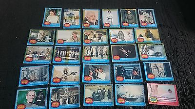 Rare Star Wars Topps Trading Cards 1977 Collectors Resellers