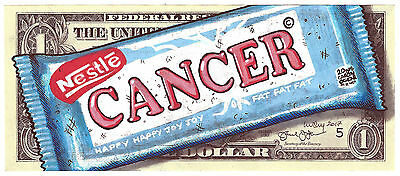 Lusky real dollar original. Cancer Candy ships internationally.