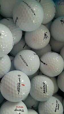 100 balles de Golf DUNLOP. .. EN BE