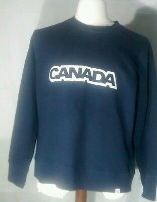 Canada™ men's blue Canadian Olympic Team Sweatshirt **23w 26l extra large**