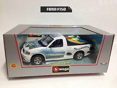 BURAGO 1/18 FORD F150 ACQUASCOOTER Gold Collection