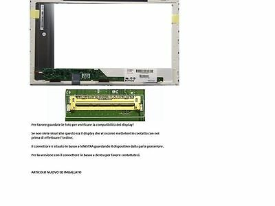 "N156BGE-L21 REV.C1 Display LCD Schermo 15,6"" LED 1366x768 40 pin"