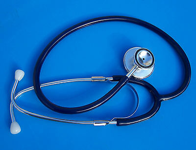 STETHOSCOPE DUAL HEAD Royal BLUE- Doctors,nurses,vets,students, health watcher .