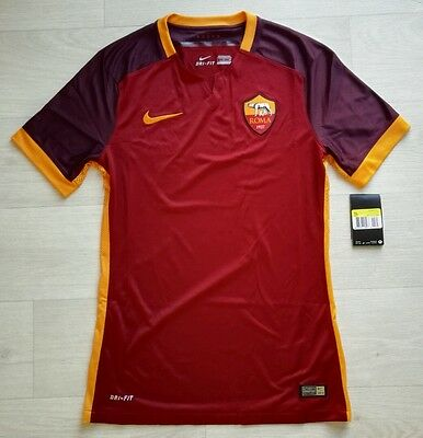 Nike AS Roma Home Mens Football Shirt Player Version Brand New Size S, M, L, XL