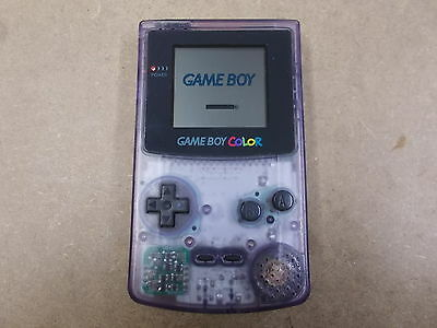 Nintendo Gameboy Color Clear Pal HAND HELD CONSOLE