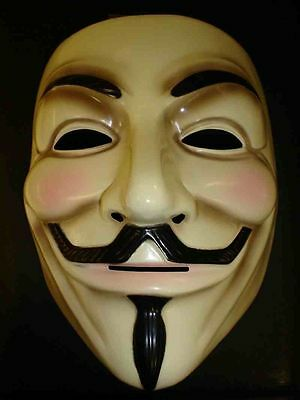 HalloweenV for Vendetta Anonymous Film Guy Fawkes Déguisement Masque Cosplay