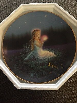 Limited Edition Franklin Mint Jeane Dixon Crystal Revelations Collector Plate