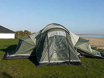 Outwell Hartford XL Tent with Footprint and Carpet