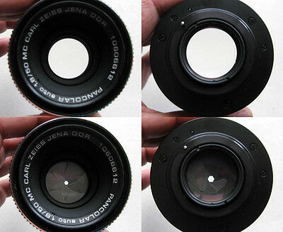 Vintage Carl Zeiss Jena lens Pancolar Auto 1.8/50mm MC, M42 mount