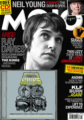 Mojo Magazine + Cd March 2017 (Ray Davies, Neil Young, Thin Lizzy, Klf) New
