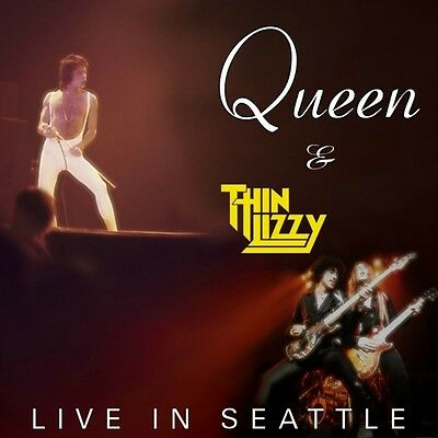 QUEEN / THIN LIZZY – LIVE IN SEATTLE cd