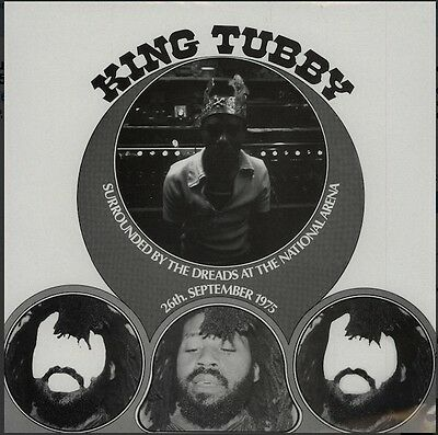 KING TUBBY Surrounded By The Dreads September 1975 LP Studio 16 ‎– STU16 003
