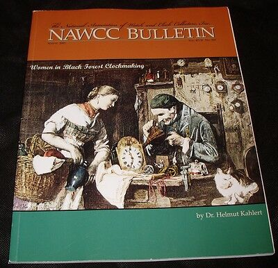 NAWCC Bulletin Women Black Forest Clockmaking Helmut Kahlert Littlemore Clock