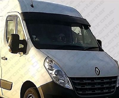 RENAULT Master Sun Visor Solid Black Acrylic FACE LIFT MODEL ONLY