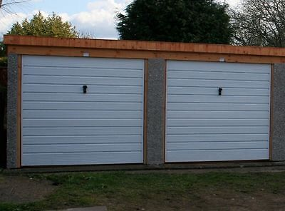 Concrete Garage Double Pent London Price Delivered And Fitted