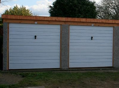 Concrete Garage Double Pent Pe Postcode Price Delivered And Fitted