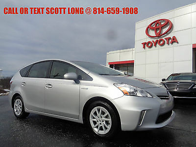 2012 Toyota Prius Certified 2012 Toyota Prius V Three Gas/Electric  Certified 2012 Toyota Prius V Three Hybrid Navigation Backup Camera