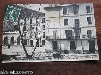 cpa (34 ?) hotel des thermes romains