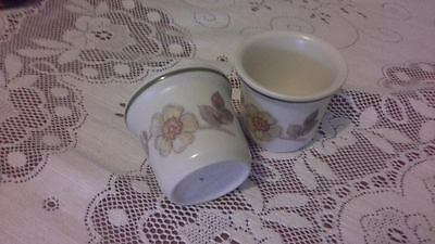 BHS Autumn Leaves TWO Egg Cups - Very Good Used Condition