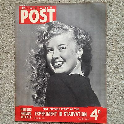 Picture Post Volume 40 Number 8 21st August 1948 Marilyn Monroe??