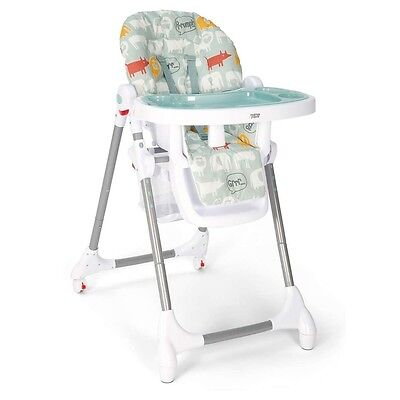 Mamas and Papas Snax Highchair in Animal Silhouettes