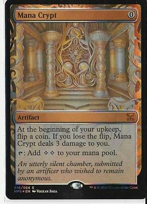 Magic the Gathering (MtG) Mana Crypt (Invention) FOIL - MPS - Inglese - Mint