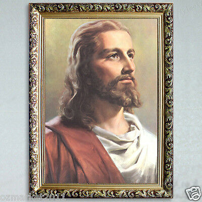 Catholic Church Portrait Jesus Christian Blessed Simple Artwork Decoration H