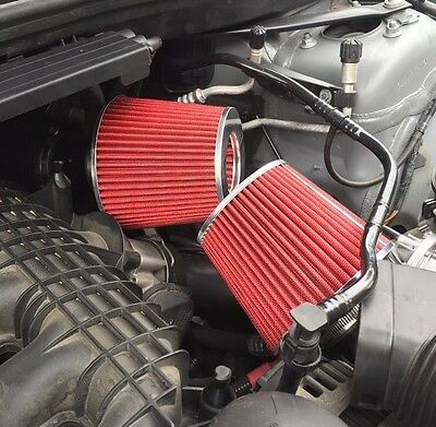 BMW 1M 135i 335i 535i Z35i DCI Dual Cone Air Intake Filters For Twin Turbo N54