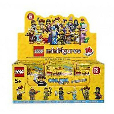 Box 60 Bustine  Lego Minifigures  71007  Serie 12   Nuovo