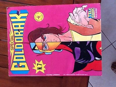 collector magazine goldorak teleguide numero 7 de 1978 port compris