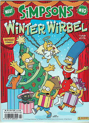 Bongo Comics: SIMPSONS Band 10 - WINTER WIRBEL neuwertig