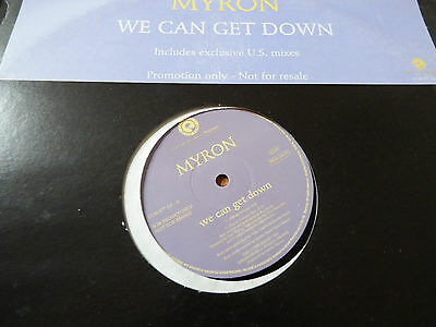 """Myron We Can Get Down 12"""" PROMO"""