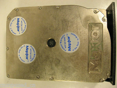 Maxtor XT-3280 280 MB Full Height SCSI 5.25 Hard Drive - Vintage Hardware