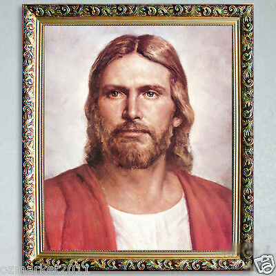Catholic Church Portrait Jesus Christian Blessed Artwork High-Grade Decoration C