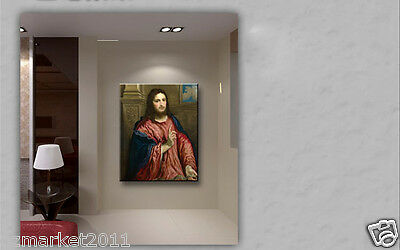 Catholic Church Portrait Jesus Christian Blessed Fashion Art Classical Painting