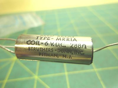 Dunco Reed Relay Type MRR1A Coil 6 VDC 288 OHM (Qty 1) #3565A