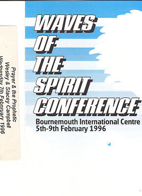 WAVES OF THE SPIRIT CONFERENCE Bournmth 1996 Cassette
