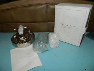 Pottery Barn Accordion Candle Lantern Red NEW IN OPENED PACKAGE!!