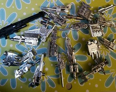 Vintage Transformer Toy Weapons Lot