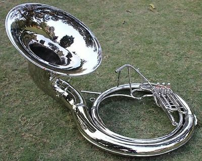 "Christmas Limited Offer_Sousaphone *24 "" Valve_Big Sousaphone Fast""w/ Case Box"