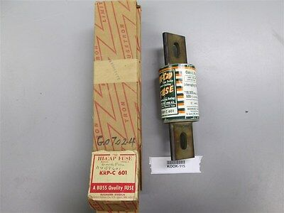 New Buss KRP-C601 Hi-Cap Fuse same as A4BY601 Old Stock Box Guaranteed