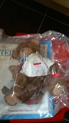 The Bear Collection Donald the Doctor BNIP with magazine