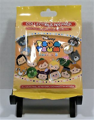Disney Tsum Tsum Series 3 Mystery Pack Collection 5 Pin BRAND NEW SEALED CUTE