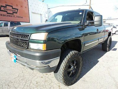 2006 Chevrolet Silverado 1500  2006 Truck Used 5.3L V8 Automatic 4-Speed 4WD Green lifted  nr